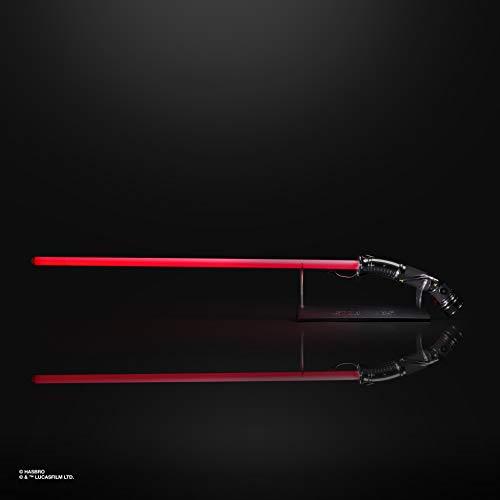 Star Wars The Black Series Count Dooku Force FX Lichtschwert mit LEDs und Soundeffekten, Rollenspiel-Artikel zum Sammeln ab 14 Jahren