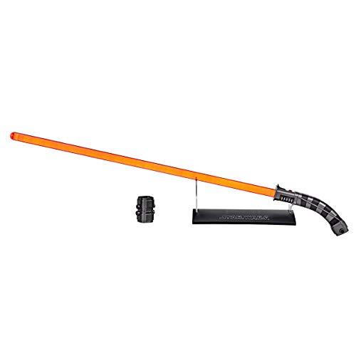 Star Wars The Black Series Asajj Ventress Force FX Lichtschwert mit LEDs und Soundeffekten, Rollenspiel-Artikel zum Sammeln ab 14 Jahren