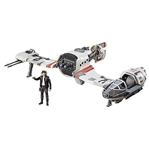 Hasbro Star Wars C1251EU4 'Episode 8 Forcelink Ski Speeder mit 3.75' Poe Dameron Figur' Spielset
