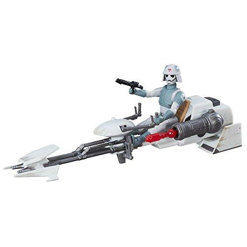 Star Wars The Force Awakens ca. 9,5cm Fahrzeug - Rebels at-DP Pilot und Imperial Speeder