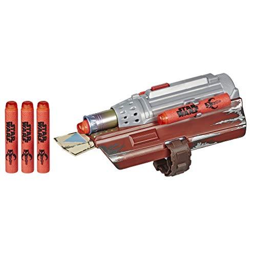 Star Wars NERF The Mandalorian Raketen Handschuh, NERF Dart-Abschuss Spielzeug für Kinder, Rollenspiel, Spielzeug für Kids ab 5 Jahren