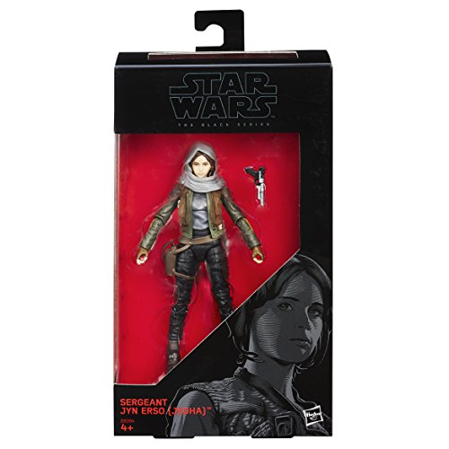 Rogue One The Black Series 6 Inch Figur: Sergeant Jyn Erso, Actionfigur