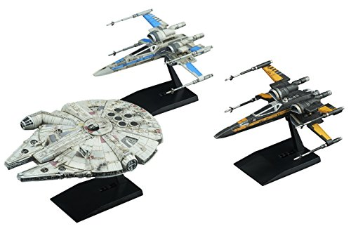 Bandai 1/144 & 1/350 Resistance VECHLE SET 'Star Wars Episode 8 / The Last Jedi'
