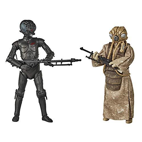 Hasbro Star Wars The Black Series 4-LOM und Zuckuss 15 cm große Star Wars: Das Imperium schlägt zurück Figuren 2er-Pack zum Sammeln, ab 4 Jahren
