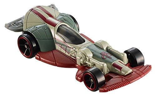 Mattel Hot Wheels DPV28 Spielzeugfahrzeug (Mehrfarbig, Auto, Star Wars, Boba Fett, ab 3 Jahren, China)