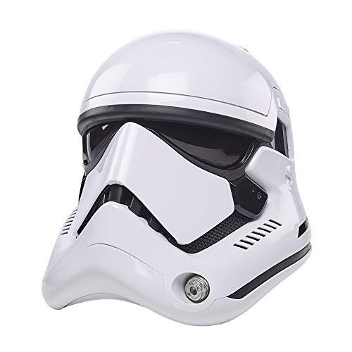 Hasbro F0012 Star Wars The Black Series Stormtrooper der Ersten Ordnung elektronischer Premium Helm, Rollenspielartikel zu Star Wars: Die letzten Jedi