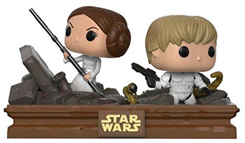 Funko Star Wars: Movie Moments: Luke & Leia Trash Compactor - Vinyl Figures