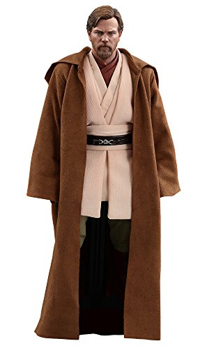 Hot Toys Star Wars: Episode III: Revenge of The Sith Obi-Wan Kenobi ( Deluxe Version) 1/6 Scale Movie Collectible Figure