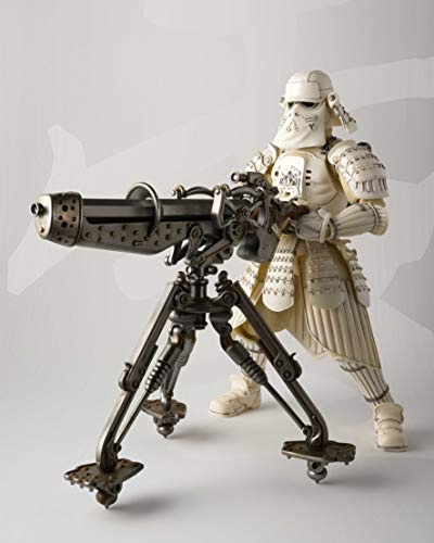 Bandai BAS55074 Kanreichi Ashigaru Snow Trooper Figur 17 cm Star Wars Meisho Movie Realization, Standard, Mehrfarbig