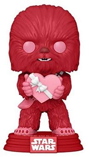 Funko 52871 POP Star Wars: Valentines-Cupid Chewbacca, Multicolour