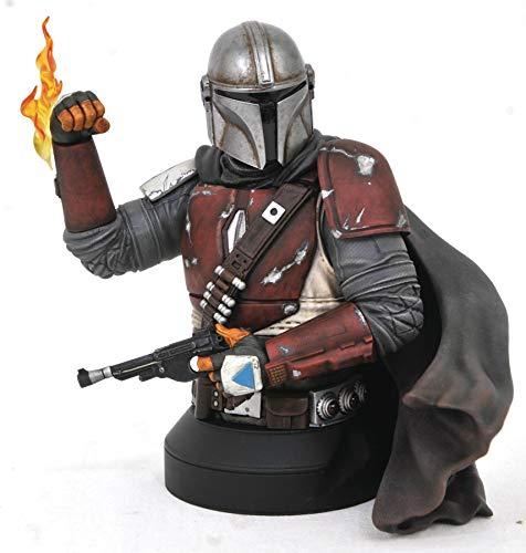 Diamond Select Toys: Star Wars - The Mandalorian MK1 1/6 Scale Bust (FEB202399)