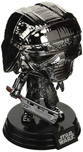 Funko 47245 POP Star Wars The Rise of Skywalker: -KOR Blade (Hematite Chrome) Sammelbares Spielzeug, Mehrfarben, Standard