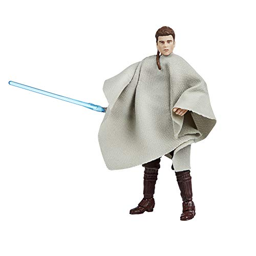 Hasbro F1884 Star Wars The Vintage Collection Anakin Skywalker (als Flüchtling getarnt) Spielzeug, 9,5 cm große Star Wars: Angriff der Klonkrieger Figur