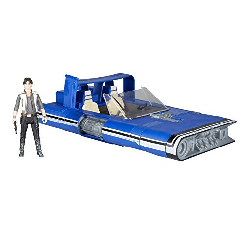 Hasbro Star Wars E1263ES0 Han Solo Film Force Link 2 Klasse B - Landspeeder, Fahrzeug