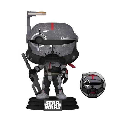 Funko 55495 POP Star Wars: Across The Galaxy - Crosshair (Kamino) - (Amazon Exclusive)