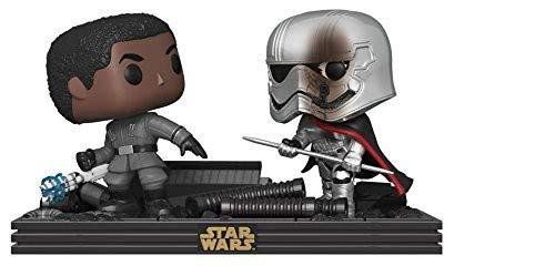 Funko 30384 POP Bobble 2-Pack: Star Wars: Movie Moments: The Last Jedi Duel