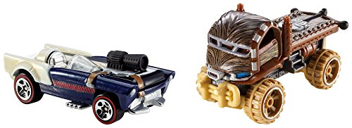 Hot Wheels - Star Wars Chewbaca-Autos (Mattel CGX03).
