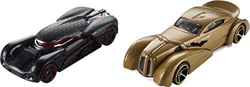 Hot Wheels Mattel – fdk37 Star Wars Character Cars – Kylo Ren & Snoke