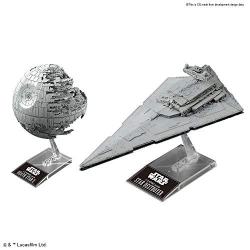 Bandai Hobby 1/2700000 Death Star II & 1/14500 Star Destroyer Star Wars Episode 6 / Jedi's Return