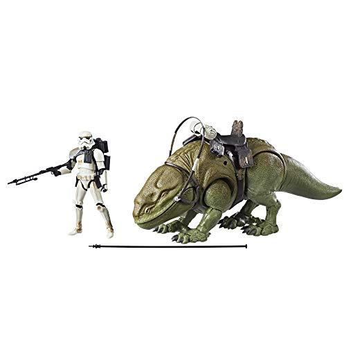 Hasbro Star Wars E0333EU4 The Black Series Dewback und Sandtrooper Actionfigur, 6 Zoll