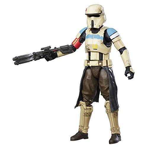 Star Wars The Black Series Shark Trooper Actionfigur, 15,2 cm, Gelb
