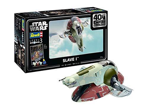 Revell RV05678 5678 05678 Star Wars Slave I 40th Anniversary Science Fiction Bausatz 1:87