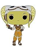 Funko 10774 POP Bobble: Star Wars: Rebels: Hera, grün, Einheitsgröße