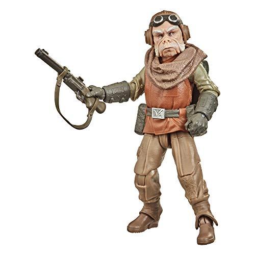 Star Wars The Black Series Kuiil Spielzeug 15 cm große The Mandalorian Action-Figur zum Sammeln, Spielzeug für Kids ab 4 Jahren