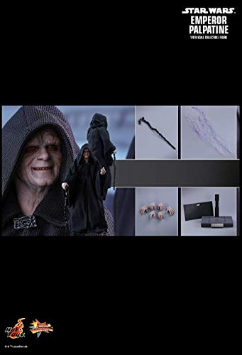 Hot Toys MMS467 - Star Wars 6 : Return of The Jedi - Emperor Palpatine Standard Version