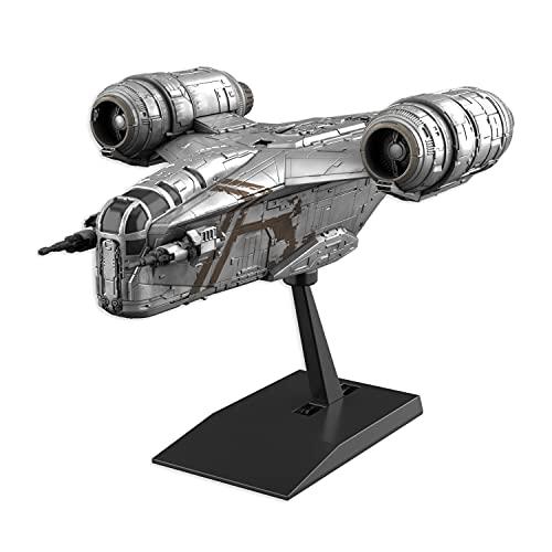 Bandai Hobby - Star Wars - Fahrzeugmodell Razor Crest (Silver Coating Version)