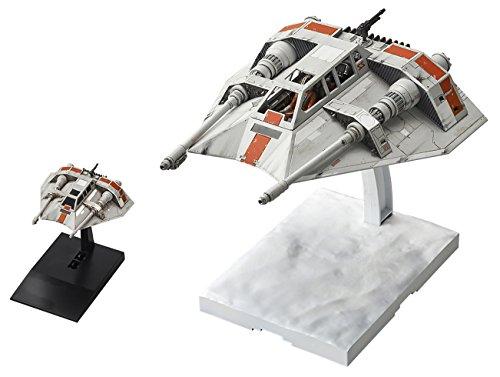 Bandai Star Wars SNOWSPEEDER 1/48 and 1/144 Scale Model Kit Set