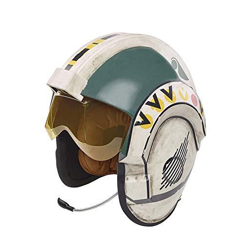 Hasbro Durch den elektronischen Star Wars The Black Series Wedge Antilles Battle Rollenspiel-Helm inspirierte Premium-Version
