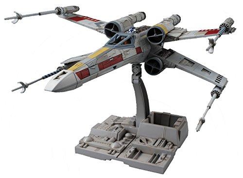 Bandai - Star Wars X-Wing Starfighter 1:72, Kunststoff- Model-Kit