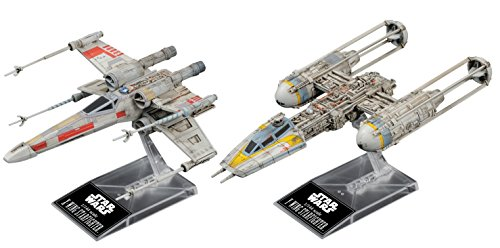Bandai 1/144 X Wing Star Fighter & Y Wing Star Fighter Star Wars Episode 4 / New Hope