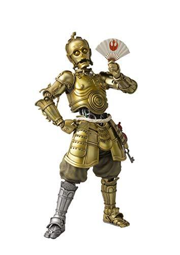 Bandai-C-3po Honyaku Karakuri Figur 18,5 cm Star Wars MEI SHO Movie Realization, Farbe (BDISW550385
