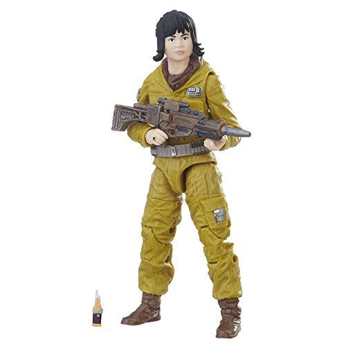 Star Wars Hasbro – C3735 The Black Series – Resistance Tech Rose – Action Figur, sehr detailliert und mit beweglichen Gelenken