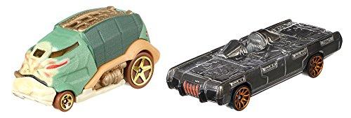 Hot Wheels Mattel – fdk44 Star Wars Character Cars – Jabba The Hutt & Han Solo