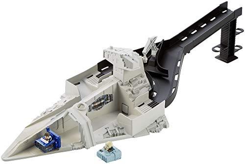 Mattel Hot Wheels FJF10 Star Wars Sternenzerstörer-Rennstarter