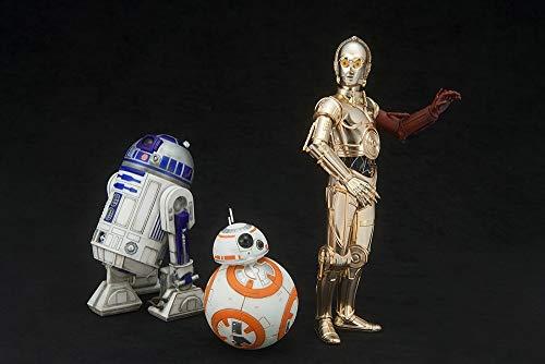 Kotobukiya ksw114Maßstab 1: 10'C-3PO & R2-D2/mit bb-8ARTFX + Statue