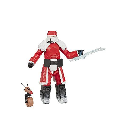 Hasbro Star Wars The Black Series Range Trooper (Festtagsedition) und D-O Spielzeuge, 15 cm große Festtags-Figuren zum Sammeln, Kids ab 4 Jahren