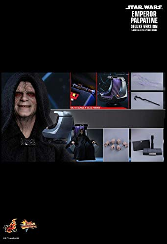 Hot Toys MMS468 - Star Wars 6 : Return of The Jedi - Emperor Palpatine Deluxe