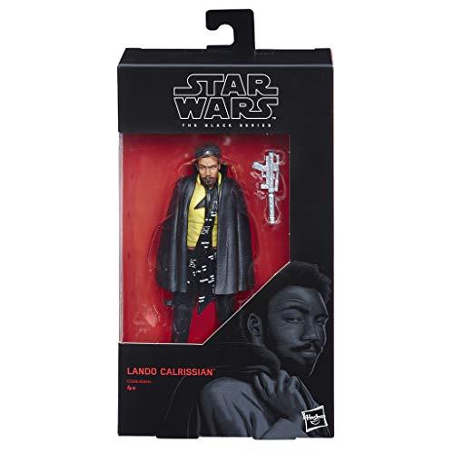 Hasbro Star Wars E1206ES0 The Black Series Figure Lando Carlissian, Actionfigur - 6 Zoll