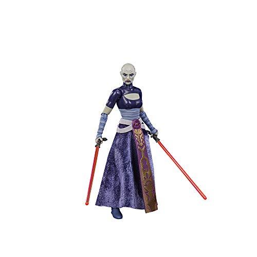 Star Wars F1861 Black Series Asajj Ventress 15,2 cm Maßstab The Clone Wars Sammel-Actionfigur, Spielzeug für Kinder ab 4 Jahren, No Color