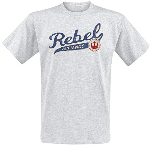 STAR WARS Rebel Alliance T-Shirt grau meliert L