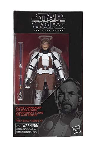 Star Wars 6in Black Series Clone Commander Obi-wan Af