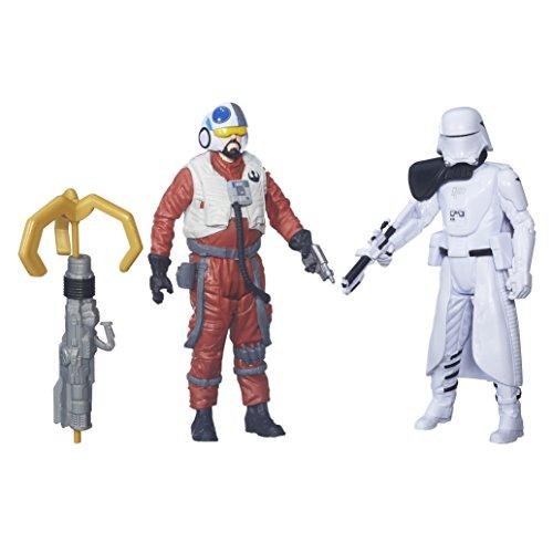 Hasbro Star Wars Figuren Sidon Ithano und Quiggold aus Star Wars: Das Erwachen der Macht, 9,5 cm groß - 2-teiliges Set