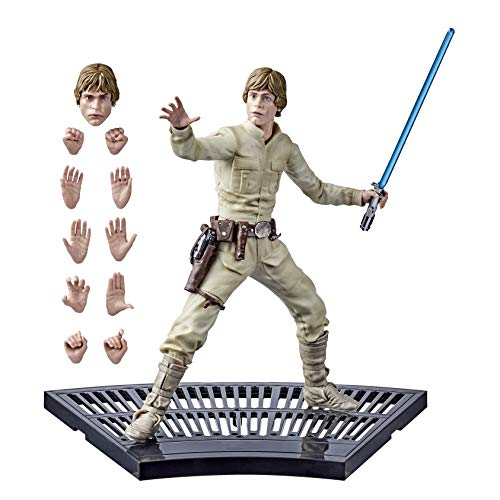 Harbro Star Wars The Black Series Star Wars: Das Imperium schlägt zurück Luke Skywalker Figur, 20 cm große Sammelfigur, Fans und Sammler