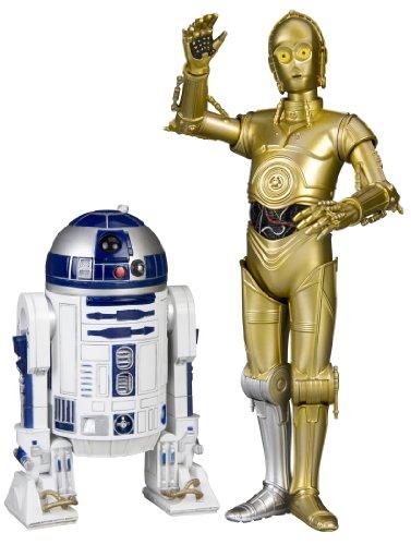 Kotobukiya 1:10 'C3-PO und R2-D2 Artfx Plus Figur (2 Stück, weiß/blau/Gold)
