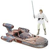 Star Wars The Black Series Luke Skywalker Landspeeder & Action Figur