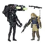 Star Wars B7259 Imperial Death Trooper und Rebel Commando Pao 9,5 cm Actionfigur Spielset